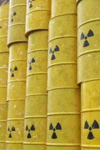 Contenitori di materiale radioattivo