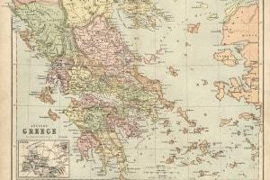 Mappa dell'antica Grecia