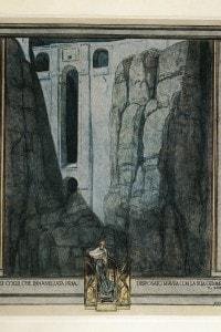 Il Purgatorio in un disegno di Franz von Byros