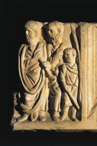 Epitaffio di Stazio Celso, poeta latino alla corte dell'imperatore Flavio