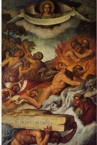 """Dante in Purgatorio"", Joseph Anton Koch"