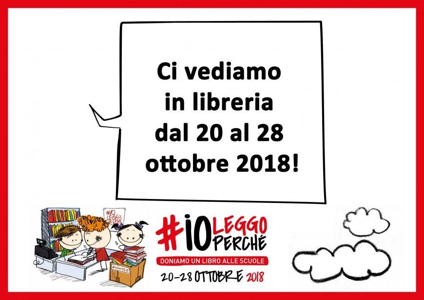 Dona un libro alle biblioteche dal 20 al 28 ottobre 2018