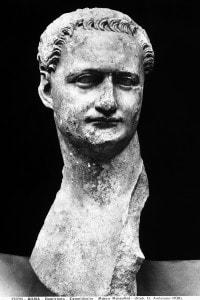 Ritratto dell'imperatore Domiziano conservato nel Museo Nuovo del Palazzo dei Conservatori