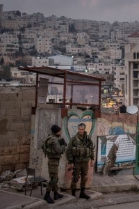 Checkpoint israeliano ad Hebron