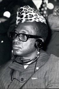 Mobutu Sese Seko (1930-1997), dittatore della Repubblica Democratica del Congo