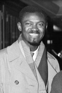 Patrice Lumumba, primo ministro della Repubblica Democratica del Congo