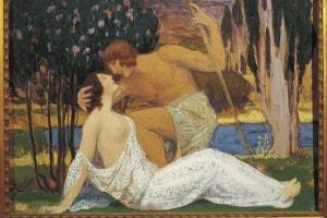 Gabriel Deluc, Dafni e Cloe, 1913. Episodio di un dramma pastorale di Longo Sofista
