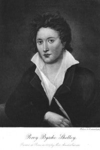 Il poeta inglese Percy Bysshe Shelley