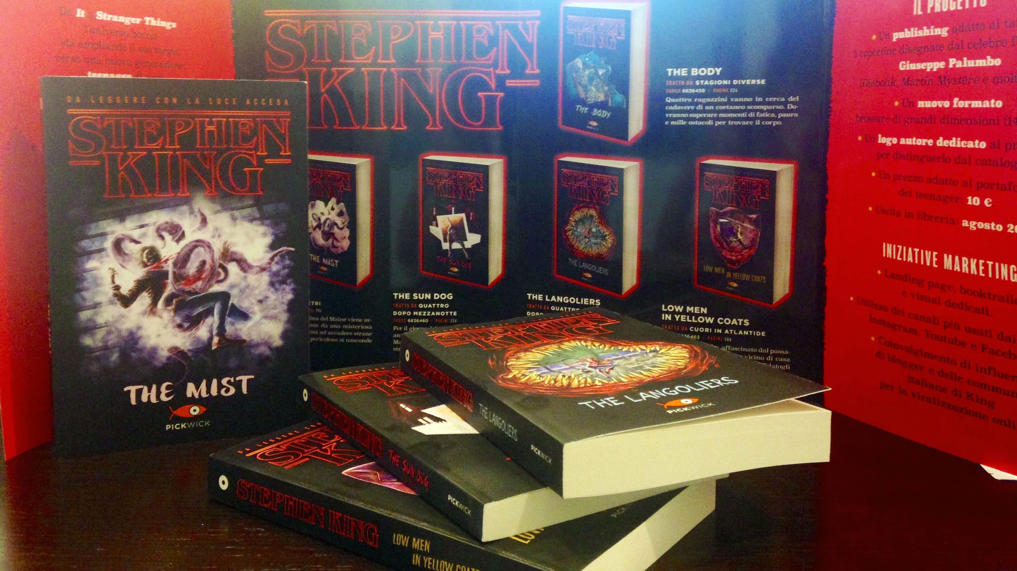 Stephen King: la nuova collana per ragazzi