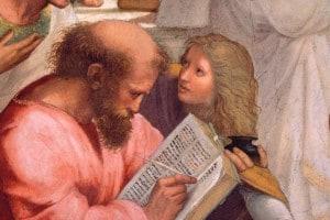 Pitagora, uno dei filosofi delle origini