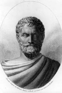 Talete:  il filosofo, astronomo e geometra che identificò l'acqua come la sostanza originale e la base dell'universo