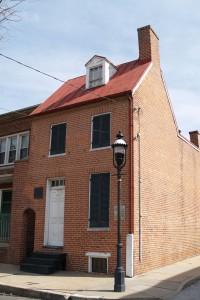 Edgar Allan Poe, casa di Baltimora