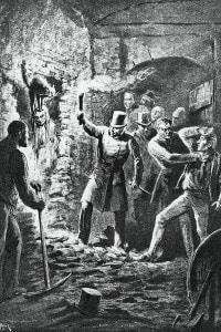 Illustrazione contenuta ne Il Gatto Nero di Edgar Allan Poe