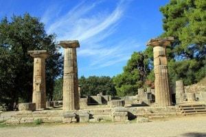 Arte greca classica: il Tempio di Era ad Olimpia in stile dorico