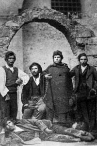 Rocco Marcelli, Giuseppe Schiavone, Giuseppe Petrelli, Pietro Capuano, Vito Rendina, briganti alle dipendenze di Carmine Crocco