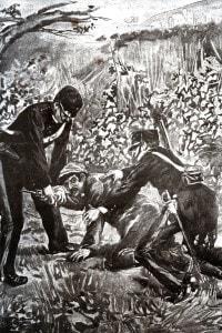 La cattura del brigante Giuseppe Musolino ad Acqualagna