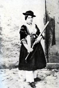 Un'altra brigantessa, Maria Lucia Nella, compagna del brigante Ninco Nanco