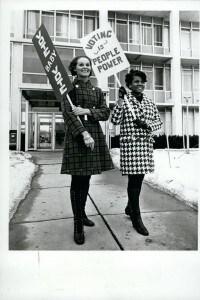 Movimento per i diritti delle donne nel 1967