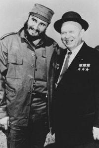 Fidel Castro e Nikita Kruscev