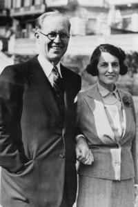 Il padre e la madre di JFK. Joseph F. Kennedy con sua moglie Rose