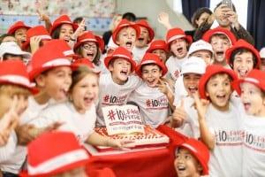 I bambini della Scuola Primaria di via Matteucci