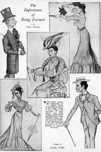 la locandina di L'importanza di chiamarsi Ernesto, in scena al Globe Theatre di Londra nel 1939