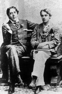 Oscar Wilde con Lord Alfred Douglas nel 1893