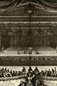 Il malato immaginario di Molière. La prima fu rappresentata per Luigi XIV di Francia e la sua corte nel 1664.