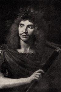 Molière (1495 - 1553) in un dipinto di Pierre Mignard.