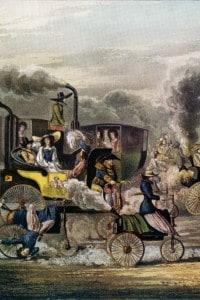 Carri a vapore della prima Rivoluzione industriale