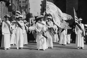 Suffragette nel 1915