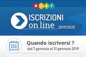 Iscrizione scuola 2019-2020