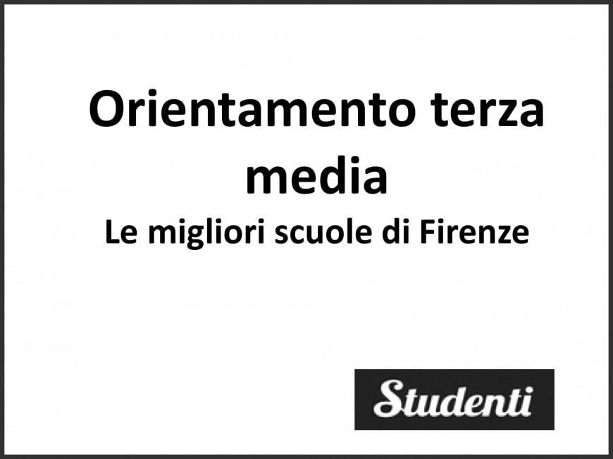 Licei e istituti tecnici: le migliori scuole di Firenze secondo eduscopio 2018