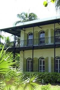 La casa di Ernest Hemingway a Key West (Florida, 1931-1939)