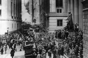 Crisi del 1929 e New Deal negli Stati Uniti d'America