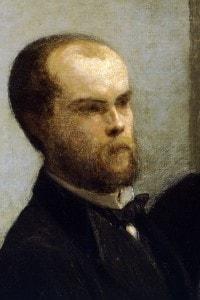 Paul Verlaine by Henri Fantin-Latour (1836-1904)