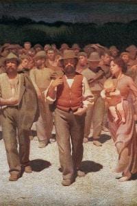 Il quarto stato di Giuseppe Pellizza da Volpedo