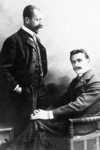 I fratelli Thomas e Heinrich Mann, 1905