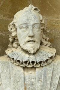 Francesco Bacone, mezzo busto