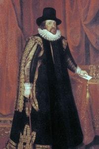 Ritratto del filosofo Francesco Bacone