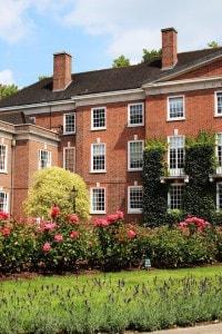 La scuola di giurisprudenza Gray's Inn di Londra, dove studiò Francesco Bacone