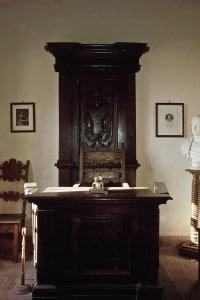 Lo studio di Giuseppe Parini, a Bosisio