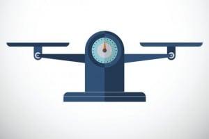 Centro di gravità, bilancia ed equilibri