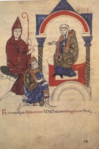 Enrico IV convoca l'abate di Cluny e Matilde di Canossa