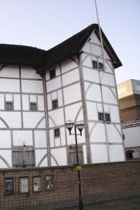 Parte esterna del Globe Theatre, Londra