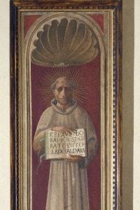 Jacopone da Todi (ca 1230-1306), 1436, di Paolo Uccello