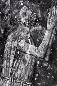 Jacopone da Todi: affresco dei primi del '300