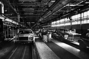 Catena di Montaggio della Ford, 1976