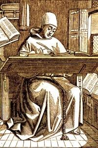 Copista medievale