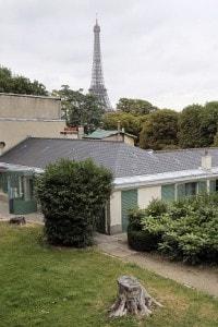 Una foto scattata il 13 luglio 2011 a Parigi che mostra la casa di Balzac, in cui l'autore francese visse tra il 1840 e il 1847